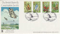 1981-05-13 Butterflies Slimbridge Benham FDC (49803)