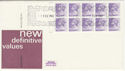 1982-02-01 Definitive Bklt Stamps Windsor FDC (49824)