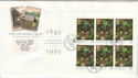 1995-04-25 PSB National Trust Full Pane Oakham FDC (49839)