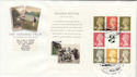 1995-04-25 PSB National Trust Full Pane Windermere FDC (49840)