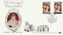 1986-07-22 Royal Wedding Lullington Benham FDC (49897)