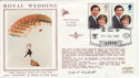1981-07-29 Royal Wedding Parachutist Signed (49909)