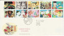 1993-02-02 Greetings Stamps Greetland FDC (49921)