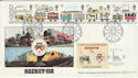 1980-03-12 Railways Rocket 150 Benham FDC (49932)