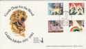 1981-03-25 Guide Dogs for the Blind Benham FDC (49939)
