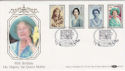 1990-08-02 Queen Mother 90th SW1 Benham FDC (49946)