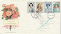 1990-08-02 Queen Mother Return to sender FDC (49979)
