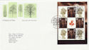 2000-09-18 A Treasury of Trees PSB Pane Llangernyw FDC (49983)