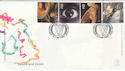 2000-12-05 Sound and Vision Stamps Cardiff FDC (49995)