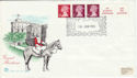 1980-01-16 Definitive Coil Stamps Windsor FDC (50013)