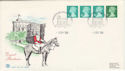 1988-09-05 Definitive Coil Stamps Windsor FDC (50021)