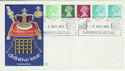 1975-12-03 Definitive Coil Stamps Windsor FDC (50026)