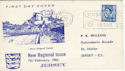 1966-02-07 Jersey 4d Definitive Jersey FDC (50033)