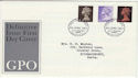1967-06-05 Definitive Stamps Bureau FDC (50045)