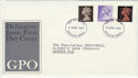 1967-06-05 Definitive Stamps Windsor FDC (50047)