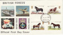 1978-07-05 Horses Forces Berlin cds FDC (50066)
