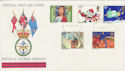1981-11-18 Christmas Forces cds FDC (50070)