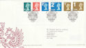 2006-08-01 Definitive Stamps Windsor FDC (50102)