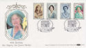 1990-08-02 Queen Mother SW1 Benham FDC (50173)