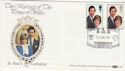1981-07-22 Royal Wedding St Paul's EC4 Benham FDC (50207)