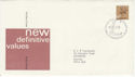 1977-02-02 Definitive Issue 50p 2B Windsor FDC (50227)