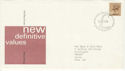1977-02-02 Definitive Issue 50p 2B Bureau FDC (50228)