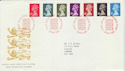 1989-09-26 Definitive Stamps Windsor FDC (50270)