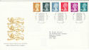 2000-04-25 Definitive Stamps Windsor FDC (50280)