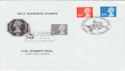 1997-03-18 Definitive Self Adhesive Windsor FDC (50289)