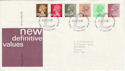 1982-01-27 Definitive Stamps Windsor FDC (50293)
