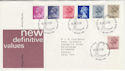 1983-03-30 Definitive Stamps Windsor FDC (50300)