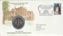 1980-08-04 Queen Mother Crown and Stamp St Pauls FDC (50344)