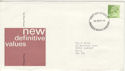 1975-09-24 Definitive Stamps Bureau FDC (50352)