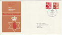 1976-10-20 N Ireland 11p Missing Phos Error FDC (50367)