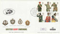 2007-09-20 Army Uniforms Carried to BFPO 40 FDC (50434)