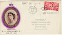 1953-06-03 Coronation London SW1 Slogan FDC (50438)