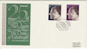 1972-11-20 Silver Wedding Windsor FDC (50474)