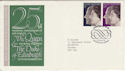 1972-11-20 Silver Wedding Windsor FDC (50475)