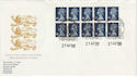 1988-08-23 GK1 Booklet Pane Exeter FDC (50495)