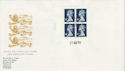 1988-08-23 GB1 Booklet Pane Guildford FDC (50496)