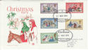 1979-11-21 Christmas The British Library FDC (50629)