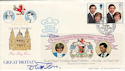 1981-07-22 Royal Wedding Exeter Official FDC (50673)