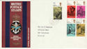 1970-06-03 Literary Anniv Forces FPO 1027 cds FDC (50681)