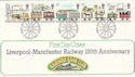 1980-03-12 Railway Book Club Manchester FDC (50684)