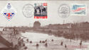 1994-06-06 D-Day Southsea Doubled Caen Official FDC (50691)