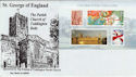 2007-04-23 Celebrating England M/S Toddington cds FDC (50706)