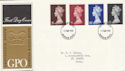 1969-03-05 Definitive High Values Windsor FDC (50721)