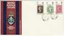 1970-09-18 Philympia Forces Field PO 552 cds FDC (50723)