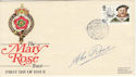 1982-06-16 Mary Rose Trust Alec Rose Signed FDC (50732)