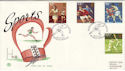 1980-10-10 Sports Stamps Boxing Assn Wembley FDC (50778)